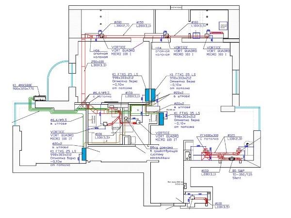 Приточно-вытяжная вентиляция с кондиционированием в квартиру