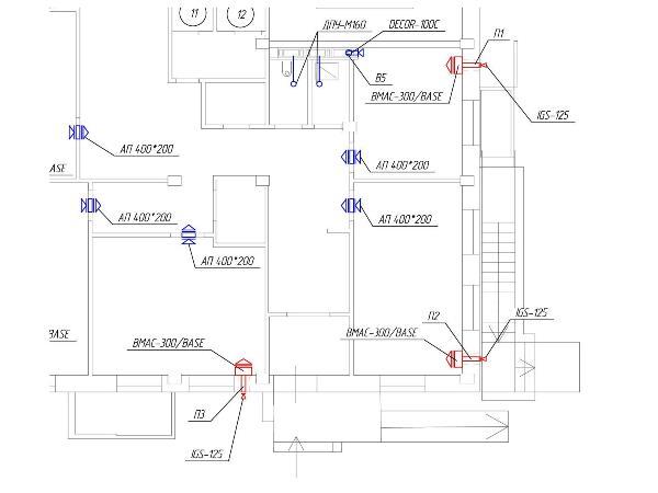Приточно-вытяжная вентиляция в квартире с приточной установкой